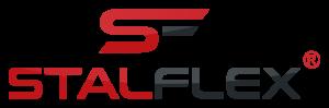 Logo w skali szarości Stalflex